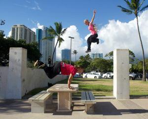 Davangie_kong_drop jump