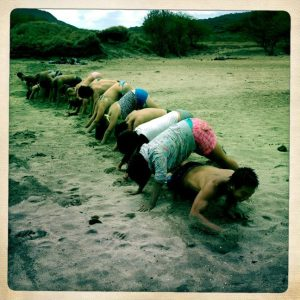 human tunnel crawl